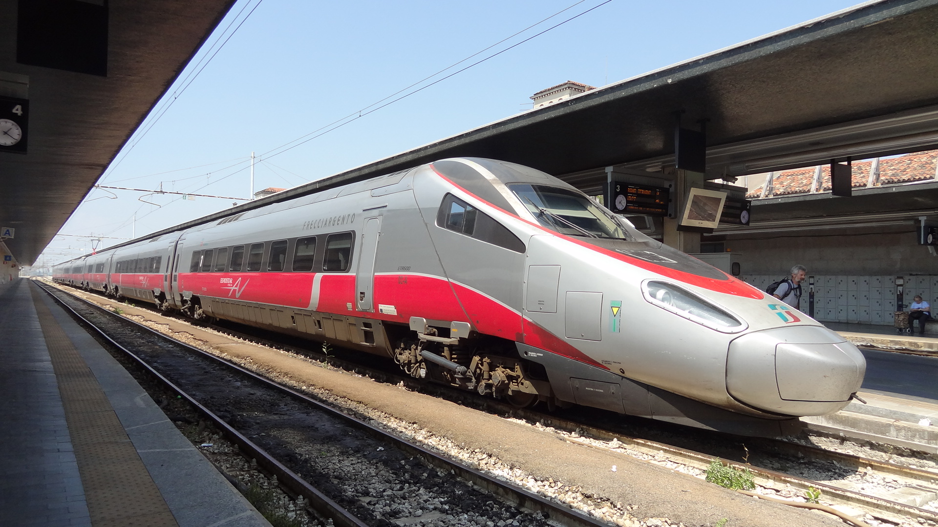Silver Arrow High Speed Rail