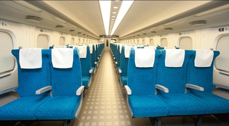 JR Highspeed Train 2 Class Reserved