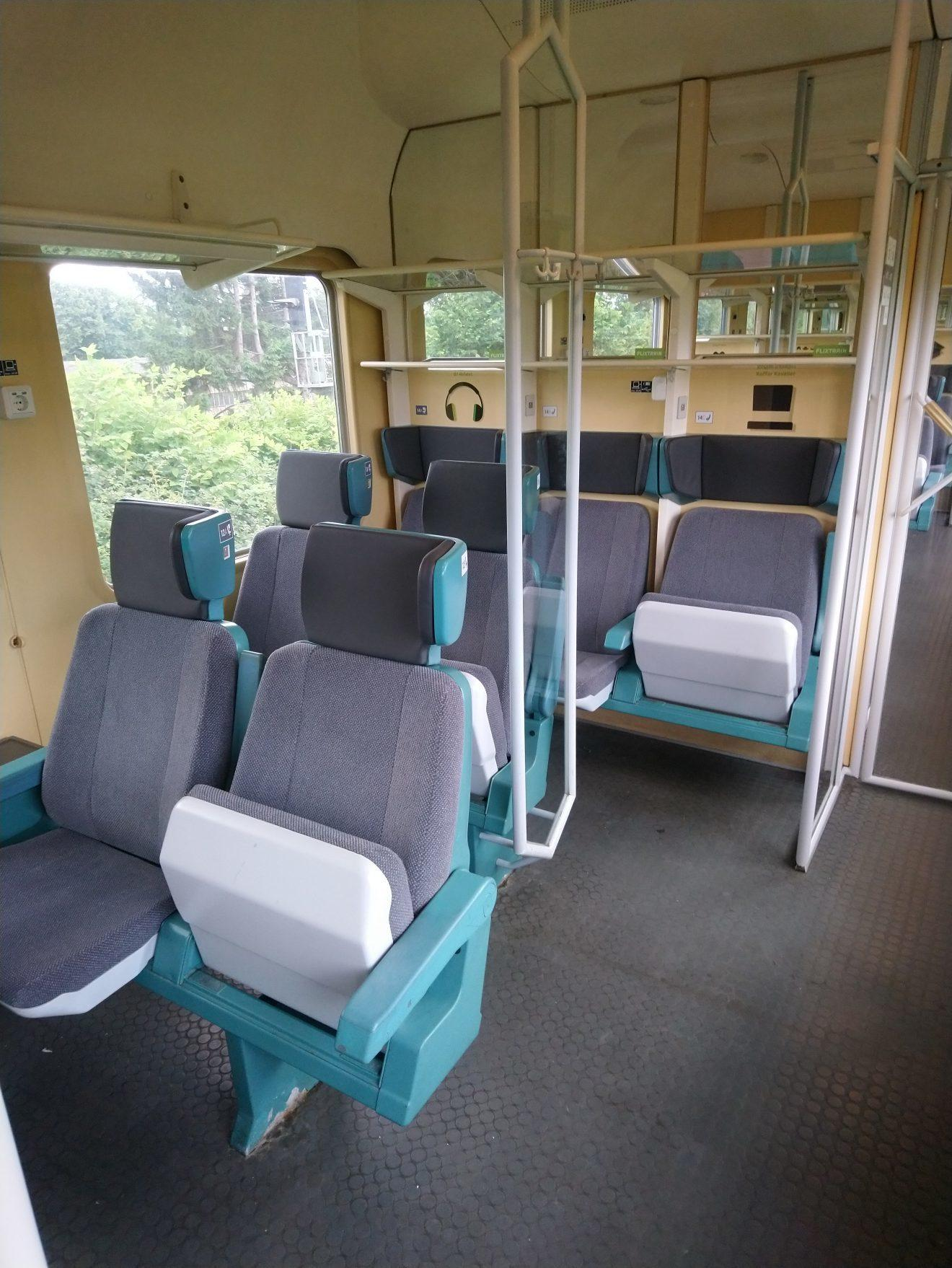 flix train carriage