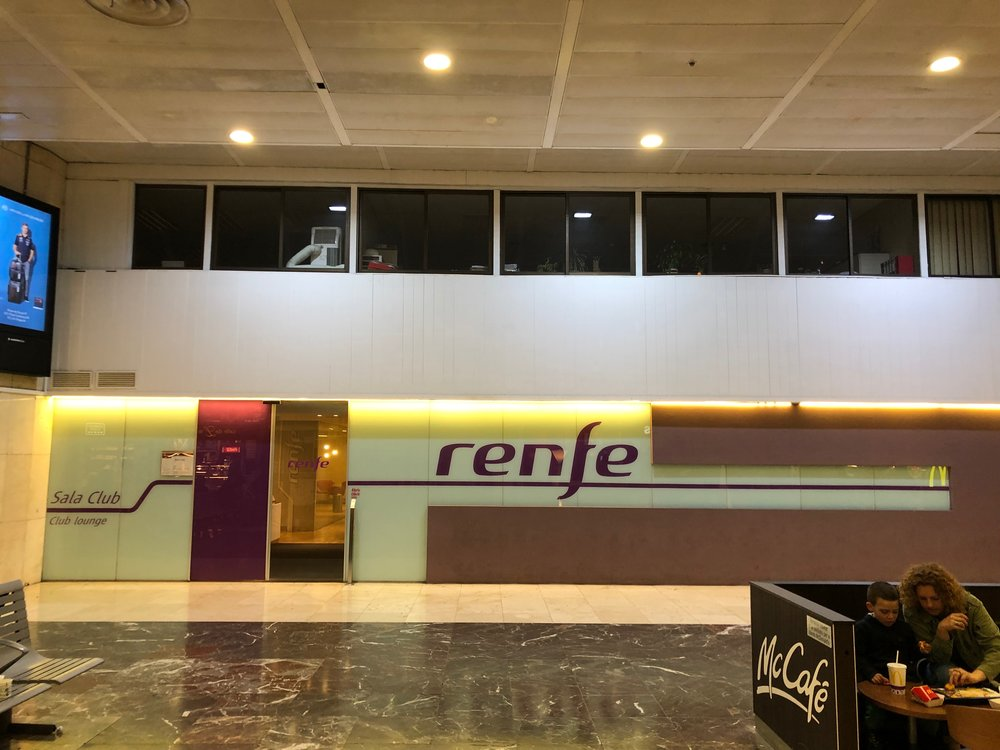 Renfe Sala Club entrance