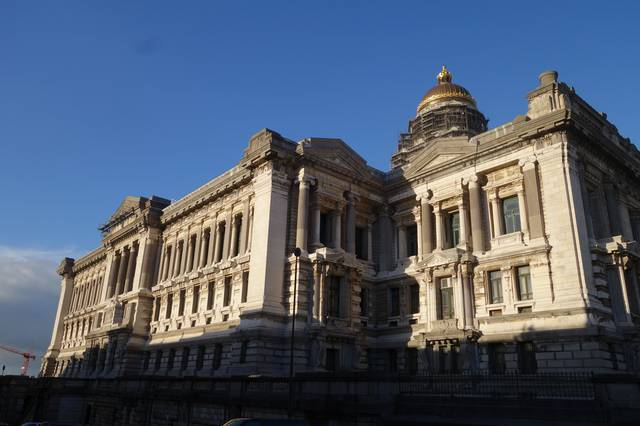 The Law Courts, monumental architecture by Joseph Poelaert