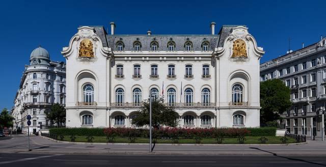 ウィーンのオーストリアへのフランス大使館