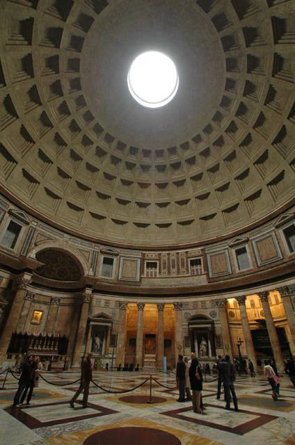 Coffers and Oculus of the Pantheon