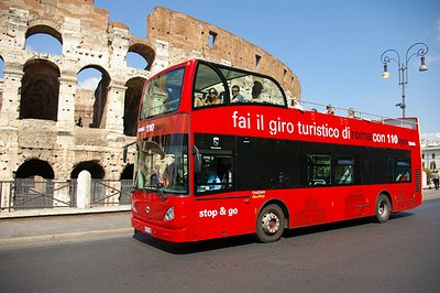 Rom City Tour Buss