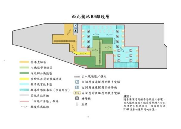 West Kowloon High Speed Rail Station B3