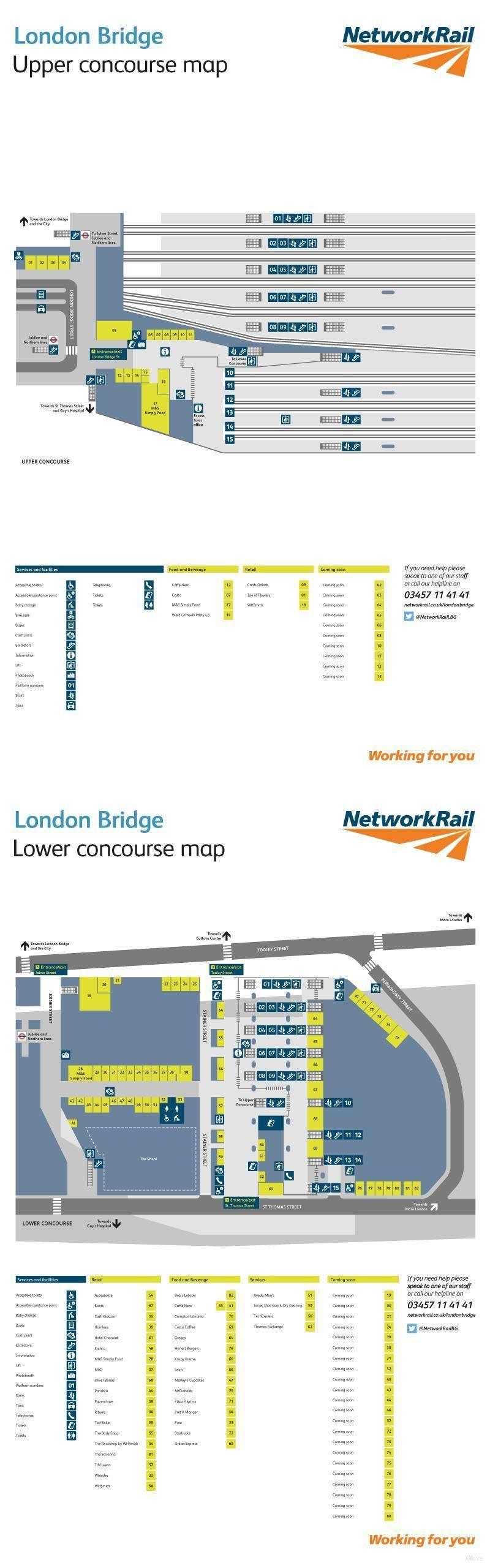platform map