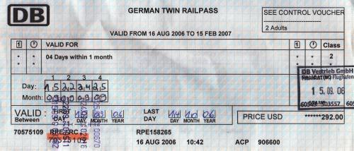 Germany Rail Pass