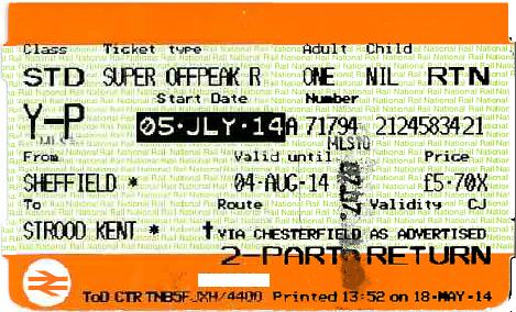 national rail advance ticket super off-break return